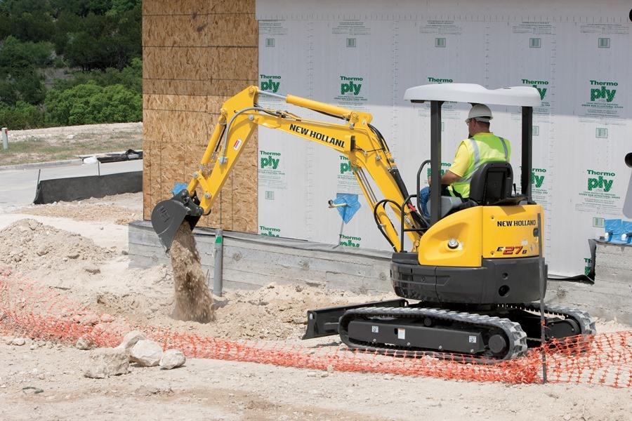 Escavadeira Compacta E27B-4